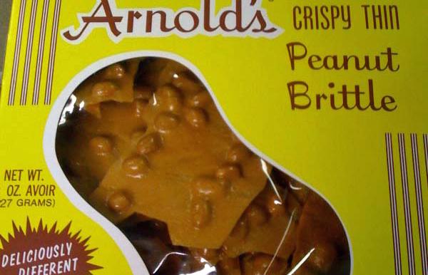 Arnold's Crispy Peanut Brittle: nomnomnomnom…