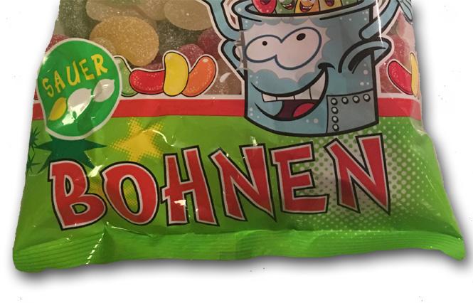 Haribo Bohnen: Sour Beans