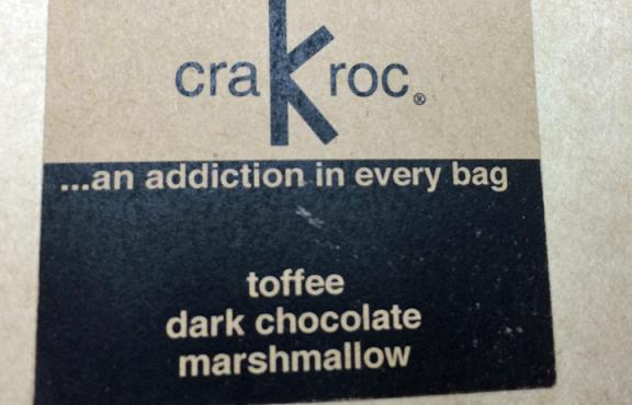 Crakroc: chocolate, marshmallow, toffee….