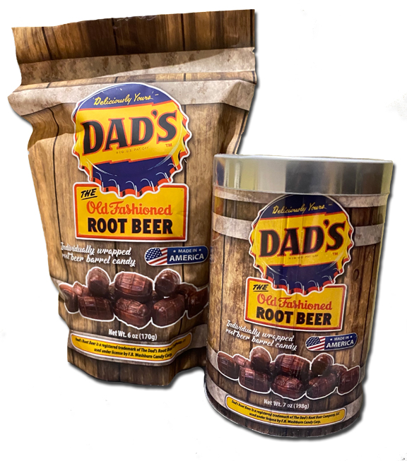 Dads Root Beer candies