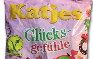 Katjes Glücksgefühle: German, Veggie & Fruity