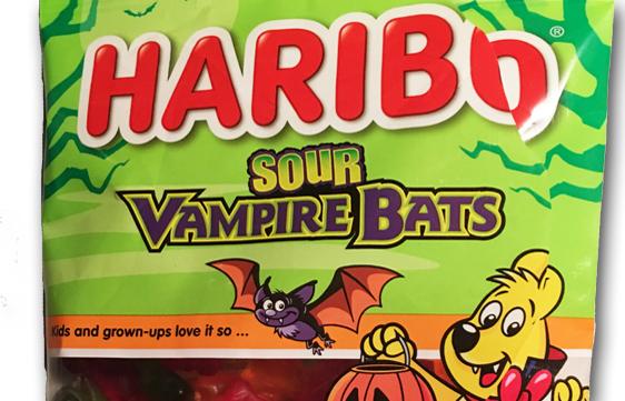 Halloween 2018: Haribo Sour Vampire Bats