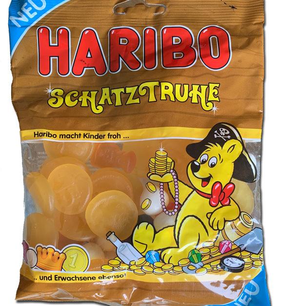 Haribo Schatztruhe: Phew