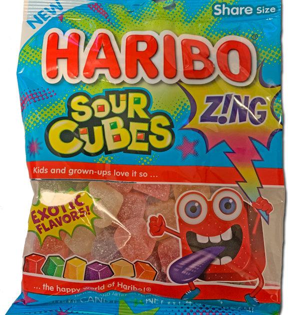 Haribo Sour Cubes