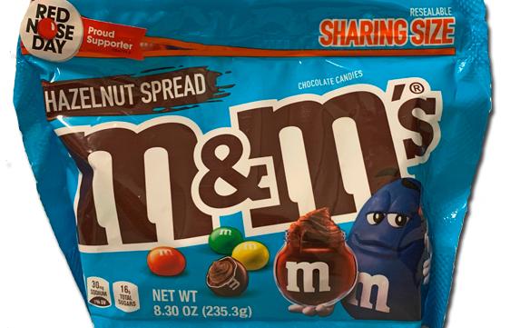 M&Ms: Hazlenut Spread