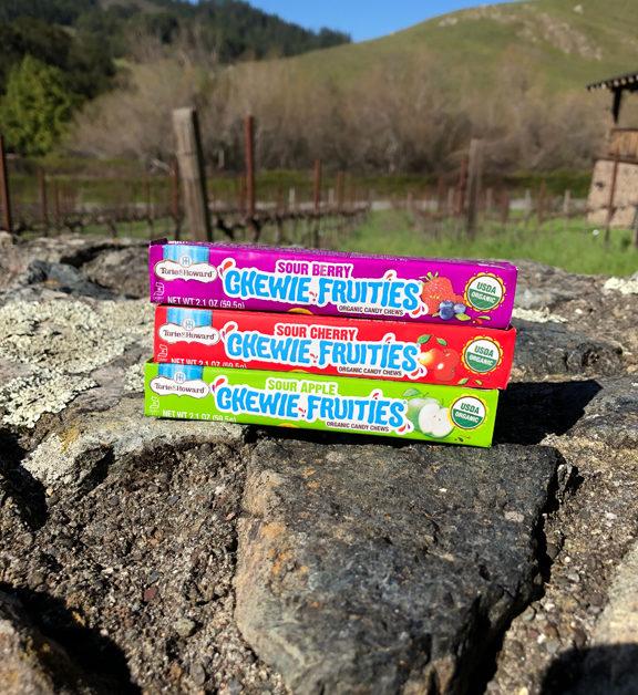 Torie & Howard Sour Chewie Fruities