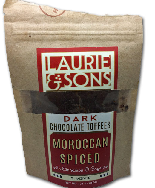 Laurie & Sons Moroccan Spiced Dark Chocolate Toffees