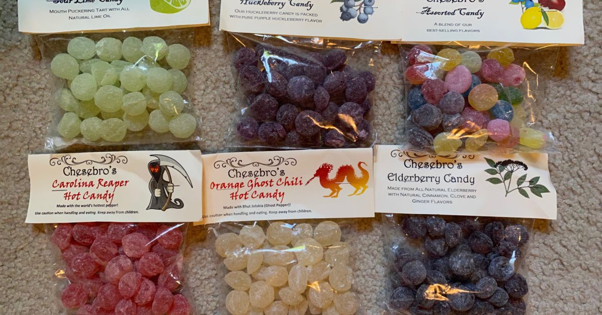 Chesebro's Handmade Confections: Old Fashioned Hard Candies
