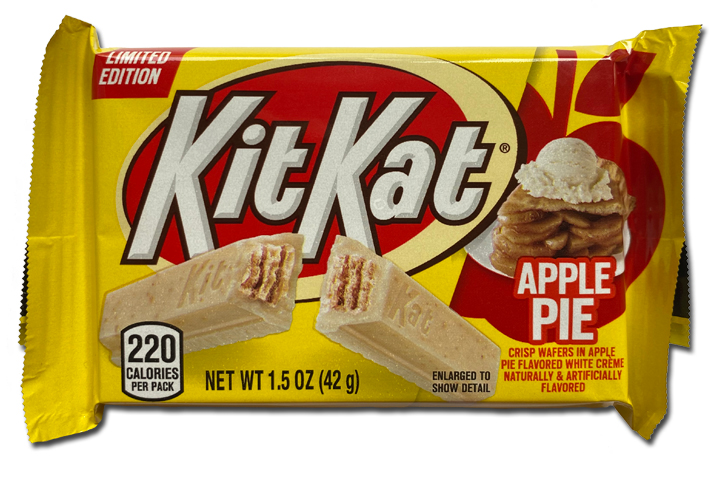 Kit Kat Apple Pie package