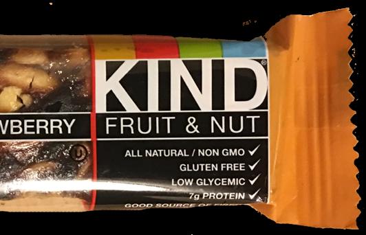 Kind Fruit & Nut: Peanut Butter & Strawberry