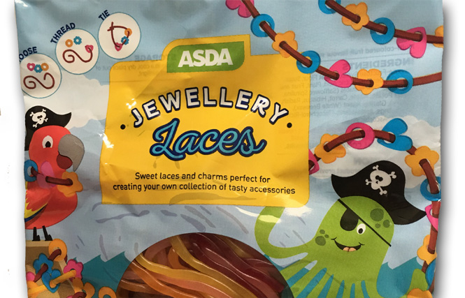 Asda's Jewellery Laces: Play, then Eat. And You'll Want to Eat.