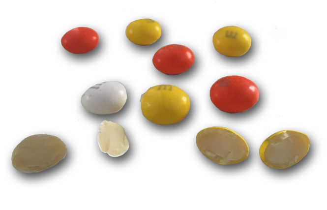 #DidYouKnow there are Candy Corn flavored M&Ms?