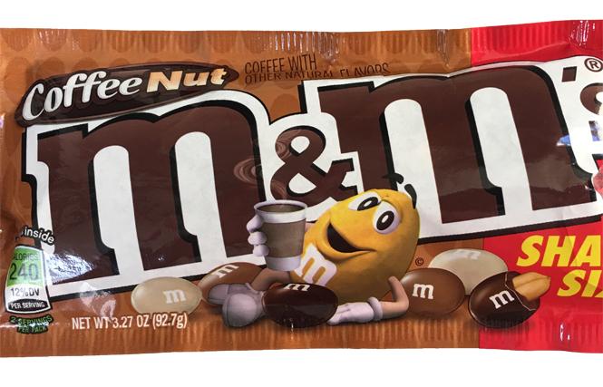 M&M's Coffee Nut: A Bit o' Buzz