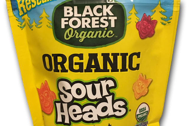 Black Forest Organic Sour Heads. Let's Call them Stars.