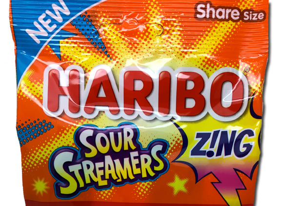 Haribo Sour Streamers….NEW!