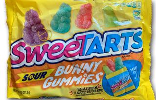 Sweetarts Sour Gummy Bunnies