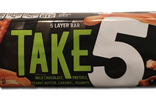 Take 5: A (snack) treat from Hershey
