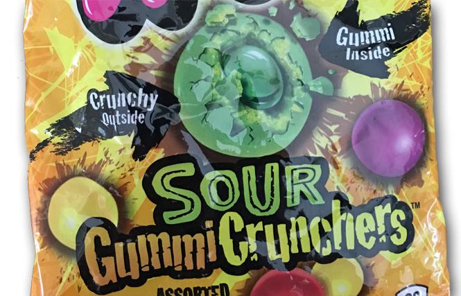 Trolli Sour Gummy Crunchers: Not a Match Made in Heaven