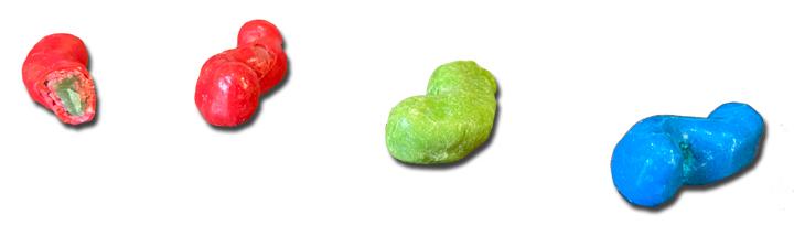 Trolli Sour Crunchy Crawler candies