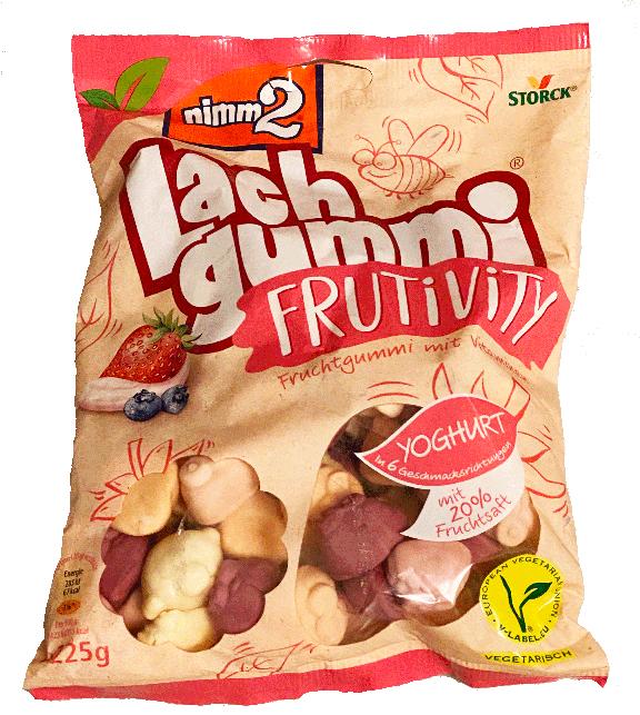 Lachgummit Frutivity package - german yogurt gummies