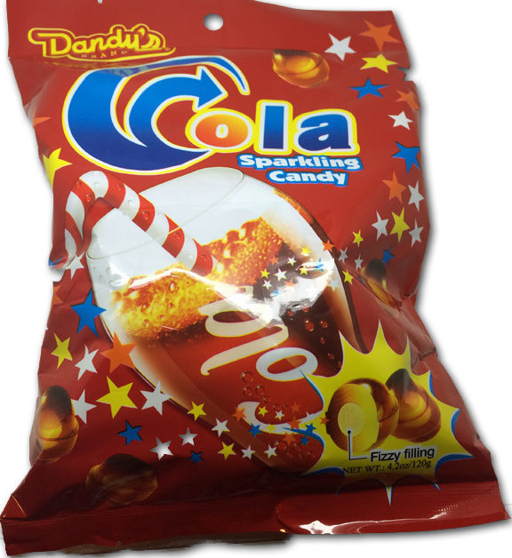 Dandy's Cola Sparkling Candy