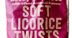 Trader Joe's Berry Soft Licorice Twists.