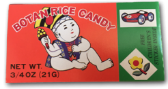 Botan Rice Candy: 1962 called. They want their box back.