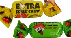 Extra Sour Chews. Great name, eh?
