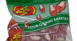 Jelly Belly Sour Gummi Santas