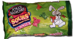 Jolly Rancher Sour Bunnies: Annual Gel Fest? Eh.