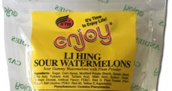 Enjoy Li Hing Sour Watermelons: So good we reviewed them twice.