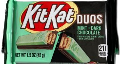 Kit Kat Duos: Mint + Dark Chocolate