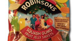 Robinson's Squash Gums are Vegeterrific