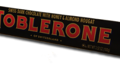 Toblerone Dark Chocolate: It Ain't New but it's Novel