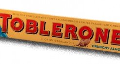 Toblerone: Crunchy Almond