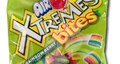 Airheads Extremes Bites Rainbow Berry: long on name, not on greatness