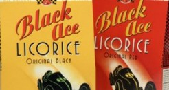 Black Ace Licorice – all retro organic like when we were kids!