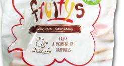 Carmel Fruitys: Sour Cola & Sour Cherry