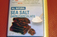 Cost Plus' Sea Salt Dark Chocolate: Tiger Woods vs. Salty Chocolate