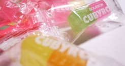 Cubyrop Asian hard candies. I have nothing witty to add.