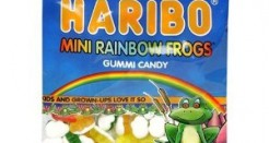 Haribo Mini Rainbow Frogs: Buy. These. Now.