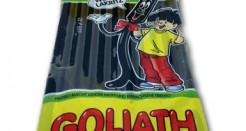Haribo Goliath : Gigantor Black Licorice From The Champs