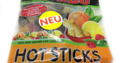Haribo Hot Sticks: Ginger Never Tasted So Imported