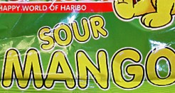 Haribo Sour Mango : Bust Out The Credit Card