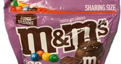 M&Ms: Fudge Brownie