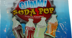 Sour Gummi Soda Pop: Flavors Keep it Real