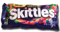 Skittles Darkside: Once you go dark you'll never go bark