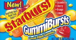 Starburst Gummibursts – Some foul ass shit, partner.