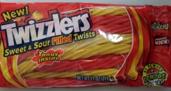 Twizzlers Sweet and Soft Sour Poo Nozzles
