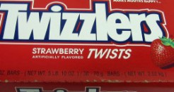 Twizzlers – The best, shittiest candy around!